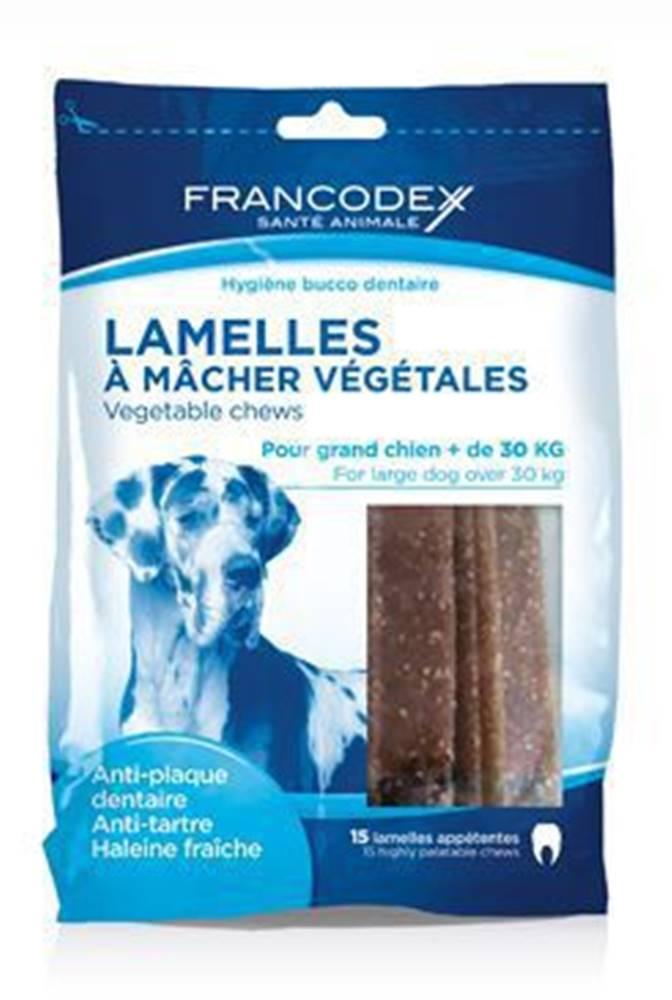 Francodex Francodex Weggy žvýkací plátky L 490g