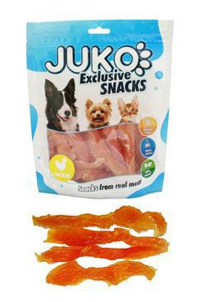 Juko Juko excl. Smarty Snack SOFT Chicken Jerky 250g