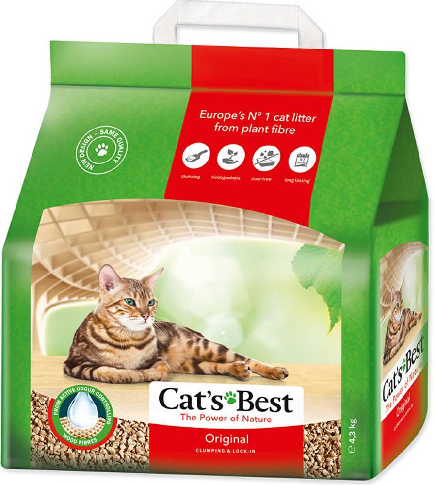 Ostatní Podestýlka Cats Best Original Kočkolit 10l