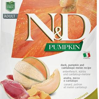 N&D GF Pumpkin CAT Duck & Cantaloupe melon 5kg