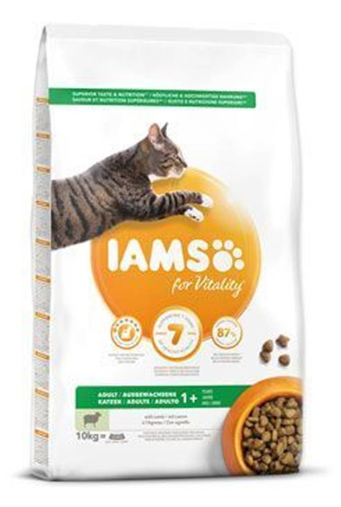 Iams Iams Cat Adult Lamb 10kg