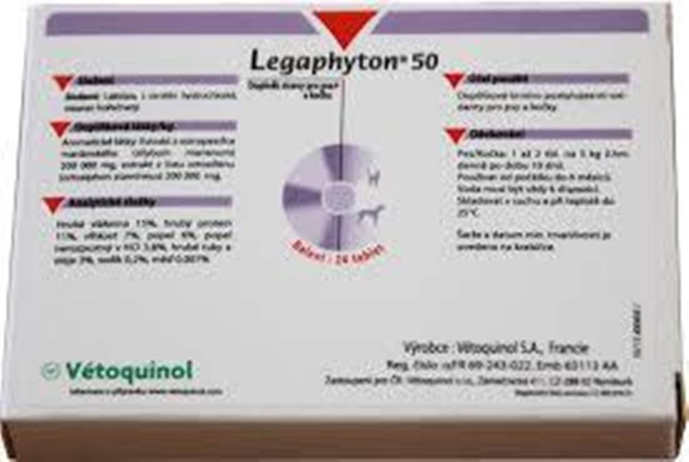 Vétoquinol Legaphyton 50mg 24tbl