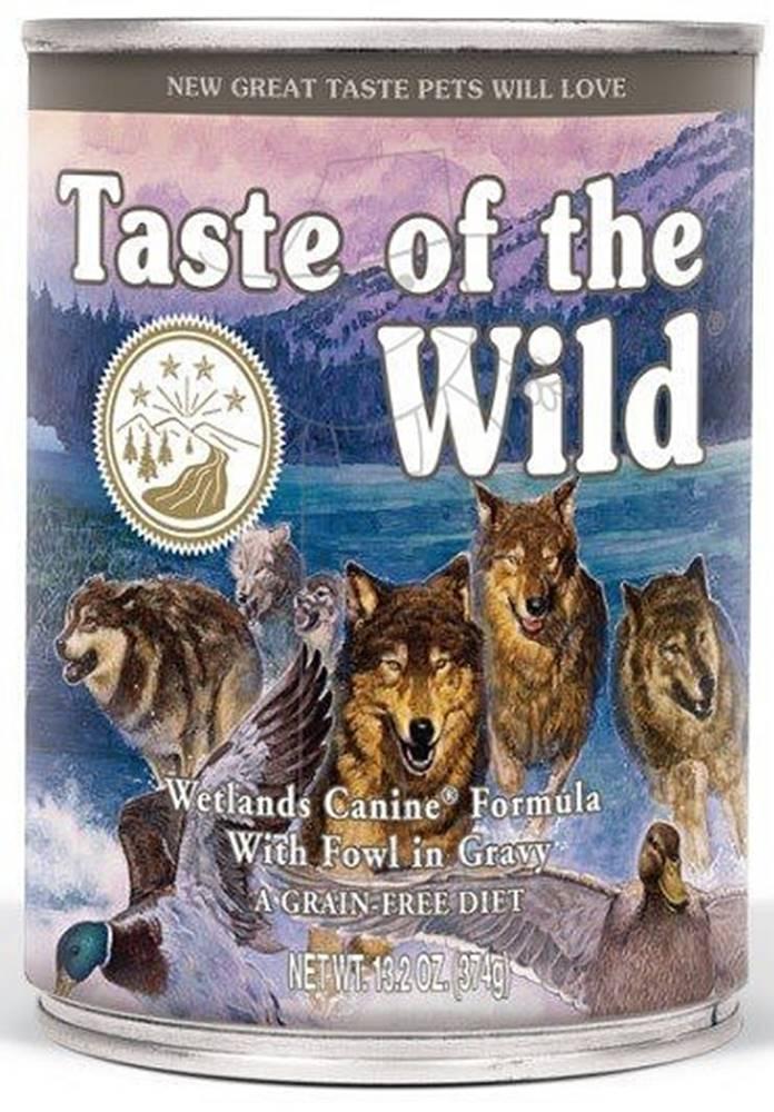 Taste of the Wild Taste of the Wild konzerva Wetlands Wild Fowl 375g