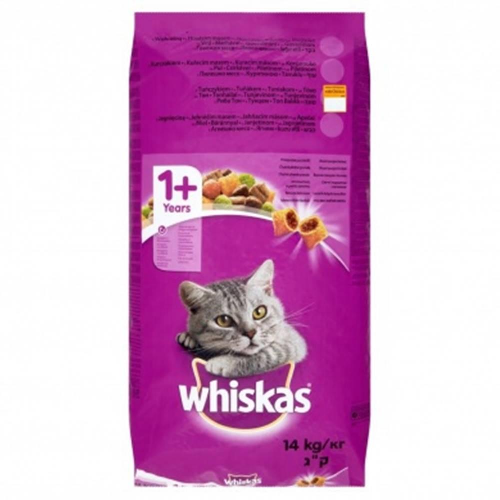 Whiskas Dry s kuřecím masem...