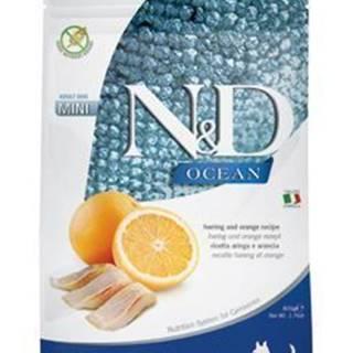 N&D OCEAN DOG Adult Mini Herring & Orange 800g