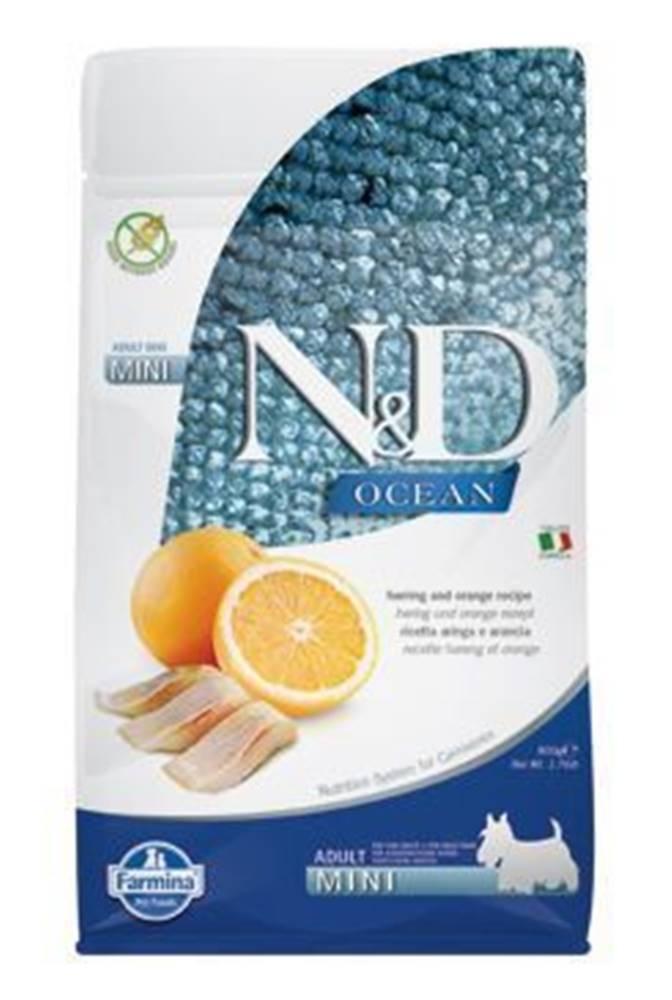 N&D (Farmina Pet Foods) N&D OCEAN DOG Adult Mini Herring & Orange 800g