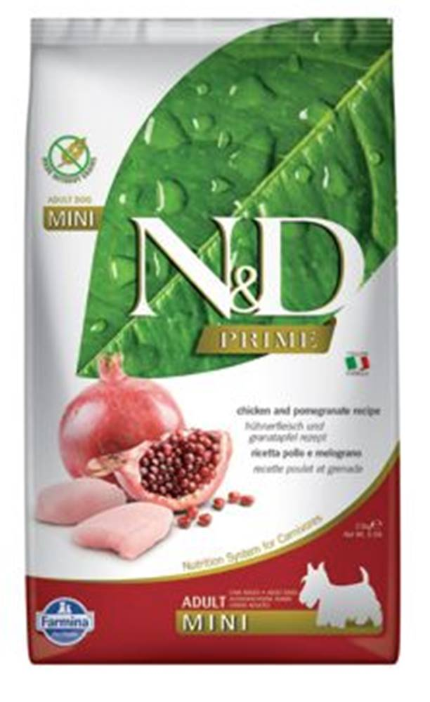 N&D (Farmina Pet Foods) N&D PRIME DOG Adult Mini Chicken&Pomegranat 2,5kg