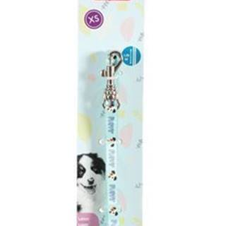 Vodítko pes šteňa MASCOTTE modrá 13mm 1,2m Zolux