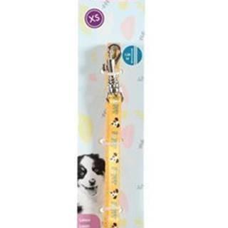 Vodítko pes štěně MASCOTTE žlutá 13mm 1,2m Zolux