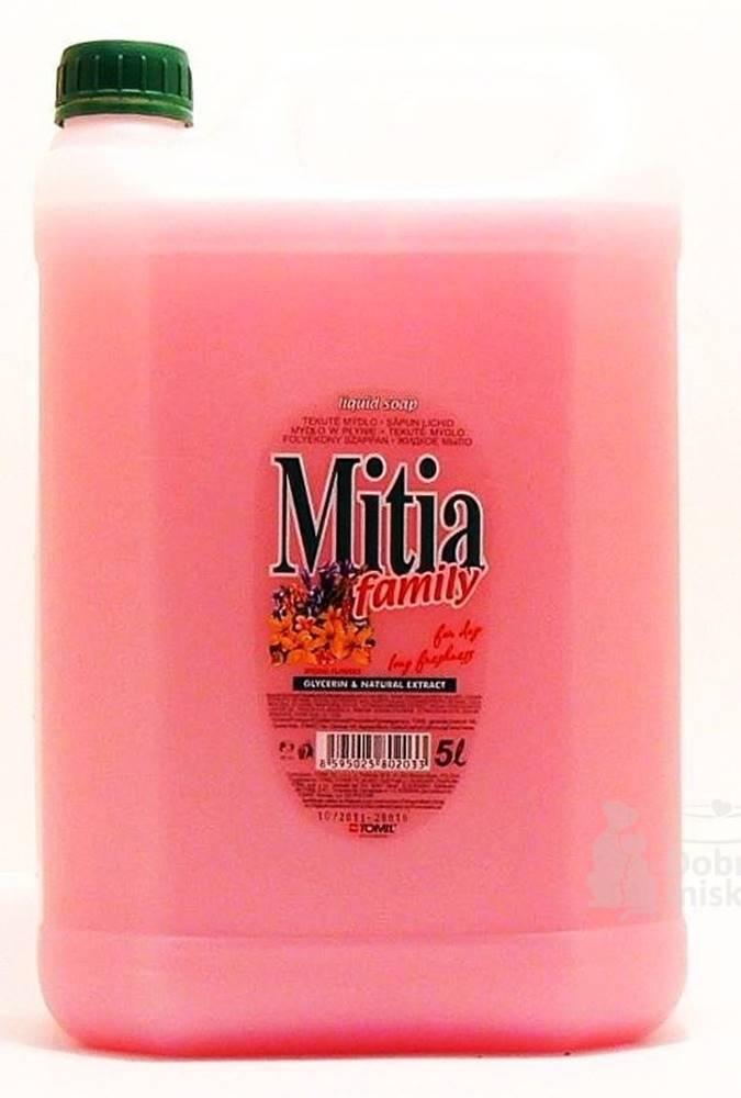 Ostatní Mydlo tekuté Mitia Family Springs Flowers 5l