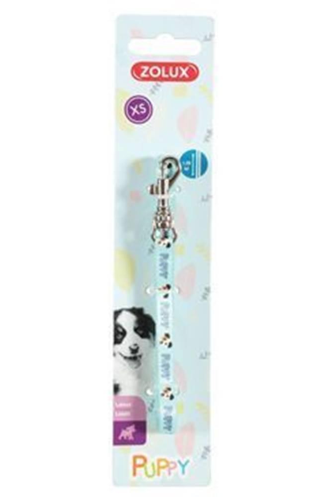 Zolux Vodítko pes šteňa MASCOTTE modrá 8mm 1,2m Zolux