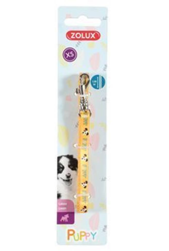 Zolux Vodítko pes štěně MASCOTTE žlutá 13mm 1,2m Zolux