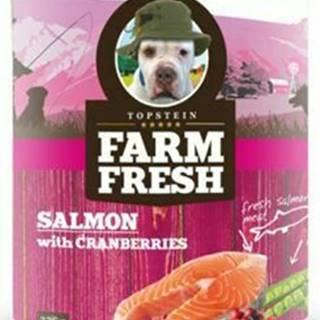 Farm Fresh Dog Salmon with Cranberries konzerva 750g