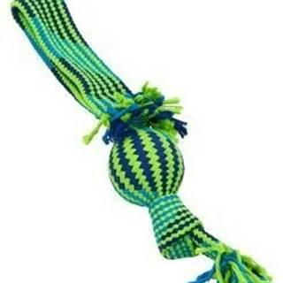 Hračka pes BUSTER Preťahovadlo s balónikom mod / ziel 44cm