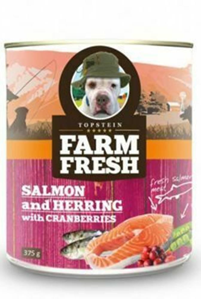 Farm Fresh Farm Fresh Dog Salmon&Herring+Cranberries konzer 375g
