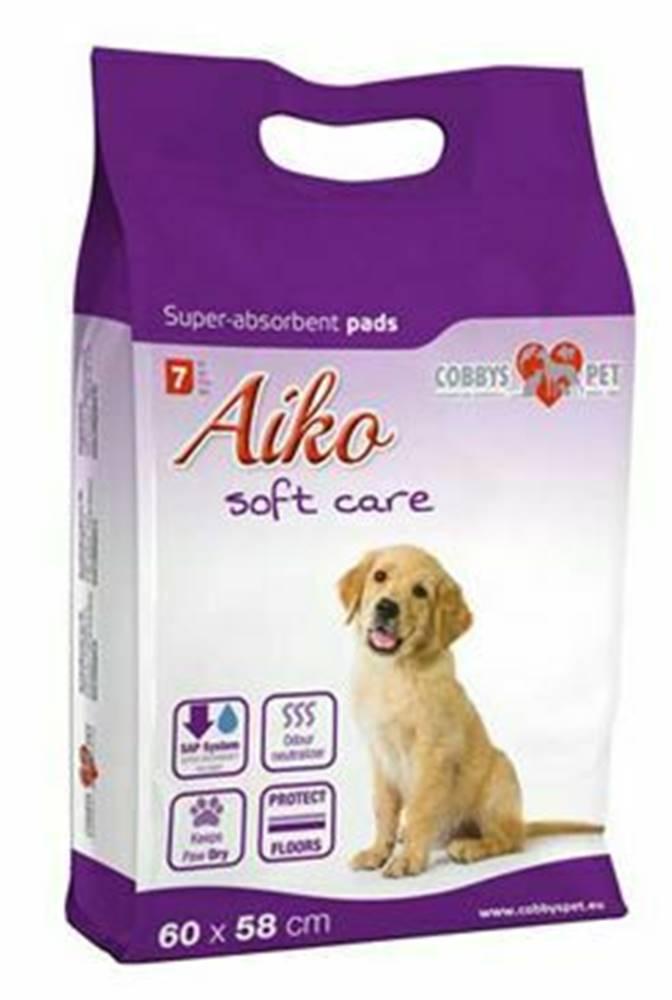 AIKO Podložka absorpčná pre psov Aiko Soft Care 60x58cm 7ks