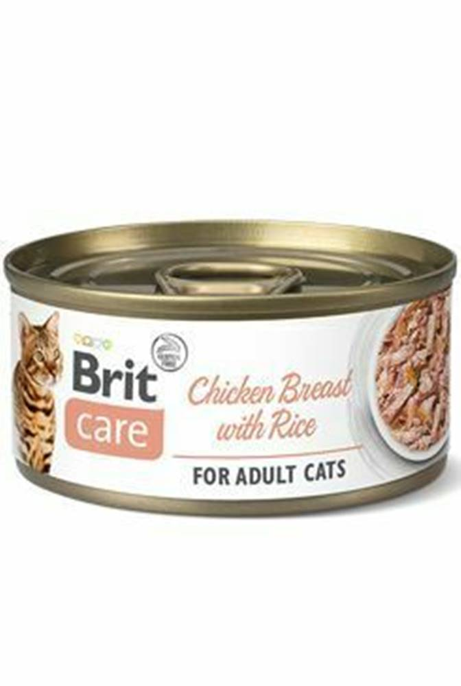 Brit Care Brit Care Cat konz Fillets Breast&Rice 70g