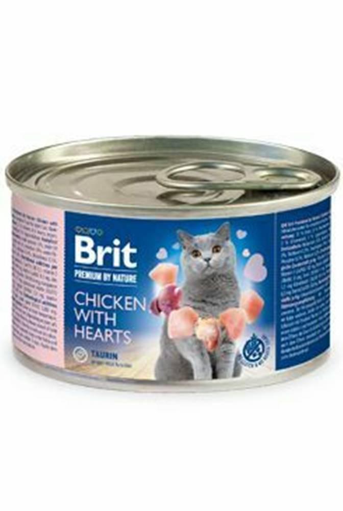Brit Premium Brit Premium Cat by Nature konz Chicken&Hearts 200g