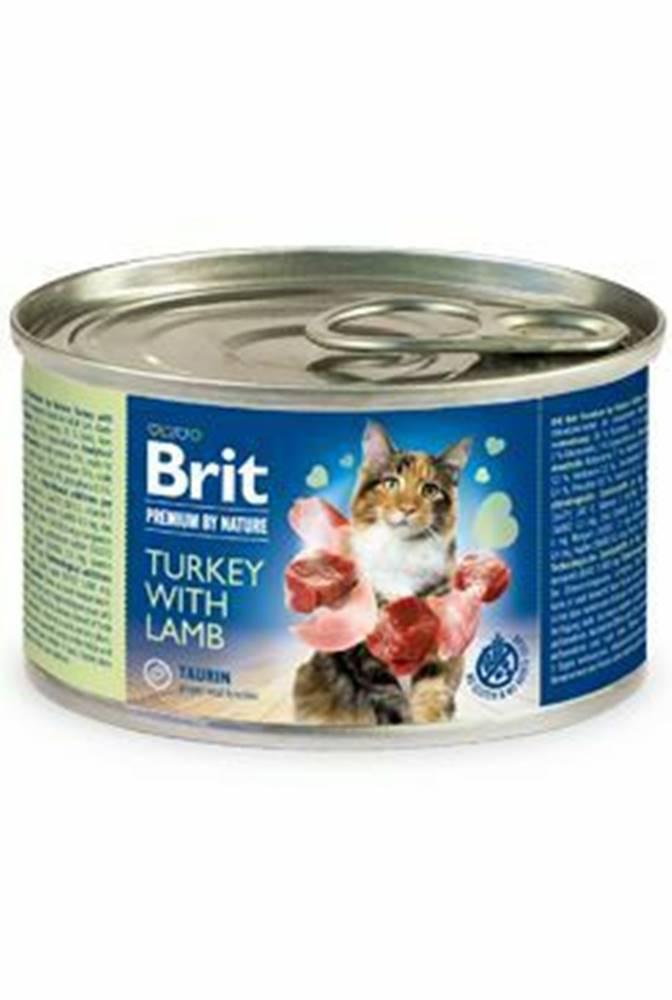 Brit Premium Brit Premium Cat by Nature konz Turkey&Lamb 200g