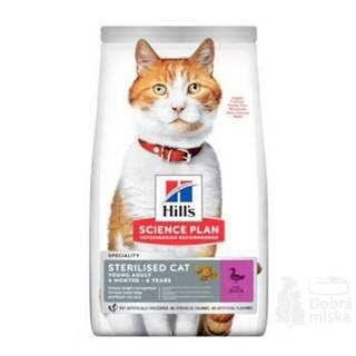 Hill's Fel. Dry SP Adult Young Steril. Cat Duck 3kg
