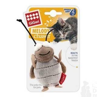 Hračka mačka Cvrček so zvukovým čipom GiGwi
