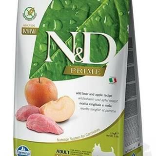 N&D PRIME DOG Adult Mini Boar & Apple 7kg