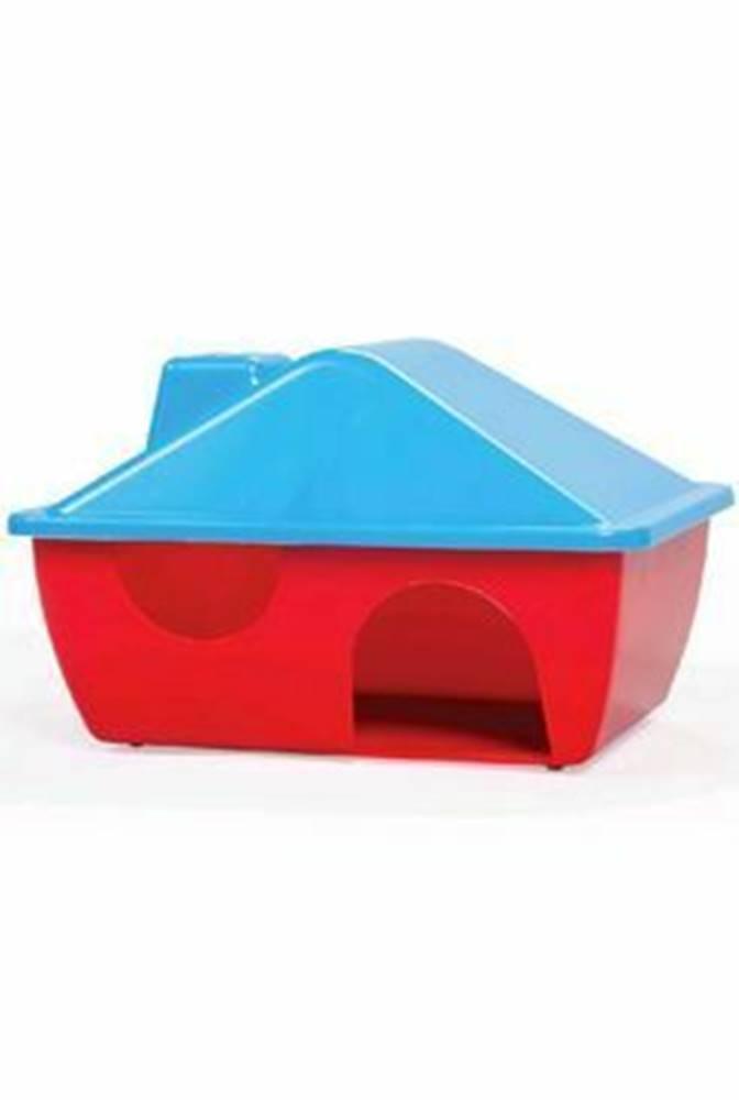 Tommi Domček pre hlodavce plastový s tvarovanou strechou A009