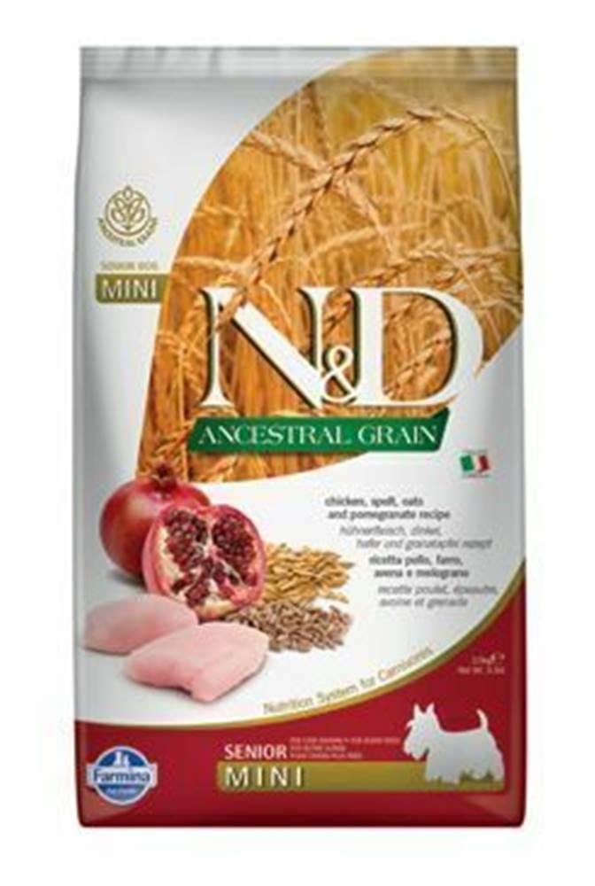 N&D (Farmina Pet Foods) N&D LG DOG Senior Mini Chicken & Pomegranate 2,5kg