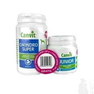 Canvit Chondro Super 230g + Canvit Junior pre psov 100g