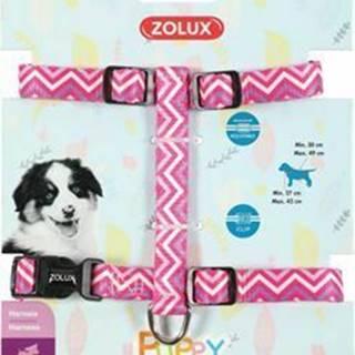 Postroj pes šteňa PIXIE nastaviteľný ružový 13mm Zolux
