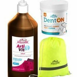 VITAR Veterinae ArtiVit Sirup 1000ml+DentON100g+batôžtek