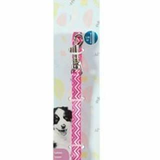 Vodítko pes šteňa PIXIE ružová 13mm 1,2m Zolux