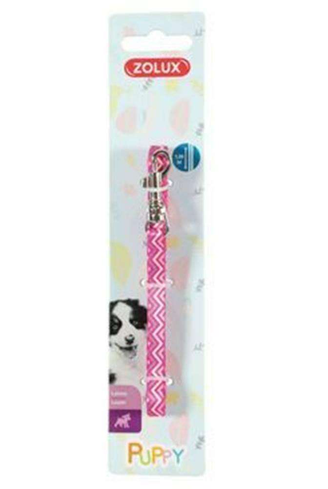 Zolux Vodítko pes šteňa PIXIE ružová 8mm 1,2m Zolux
