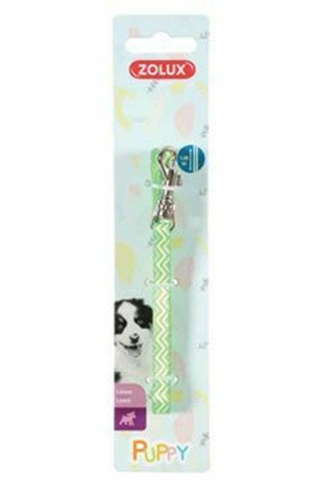 Zolux Vodítko pes šteňa PIXIE zelená 13mm 1,2m Zolux